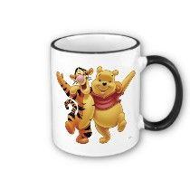 Winnie the Pooh Winne and Tigger Coffee Mug by disney
