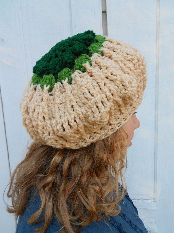 Slouch Hat Vegan Tam Beret Winter White by electricbluebird, $22.00 ...