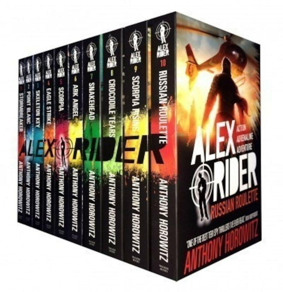 PDF Alex Rider Collection 10 Books Anthony Horowitz Set