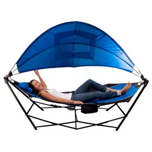 Kijaro Portable Hammock With Canopy And Cooler Portable