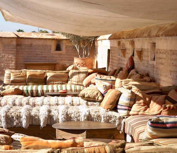 Moroccan Terrace lounge ibiza ♥ ☮ www.purehouseibiza.com loves it ☮ ♥