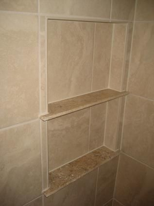 Beau I Want To Make A Shelf Similar To This One In My Shower With A Marble  Threshold As The Intermediate Shelf... Weu0027ll See If It Works!
