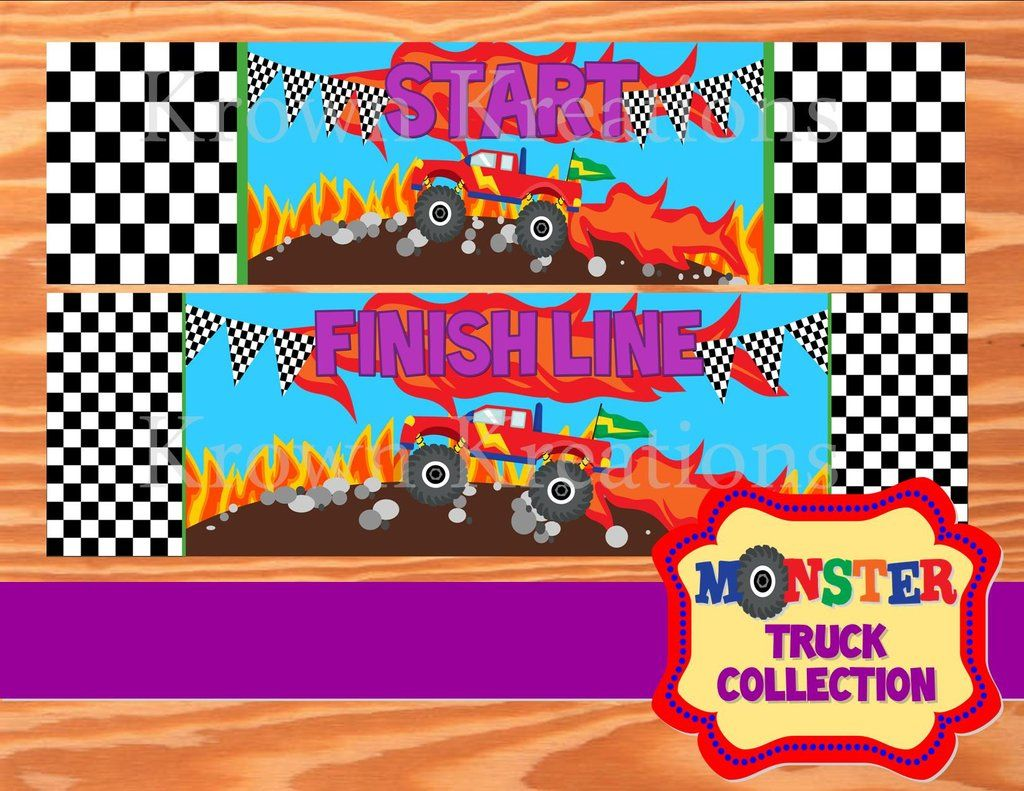 Monster Truck Party Monster Truck Game Monster Jam Party