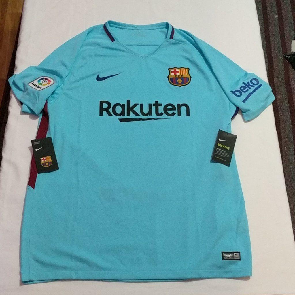 0f682a8ea Nike FC Barcelona Stadium Away Jersey Men s Size XL 847254-484 New –  LoneSole
