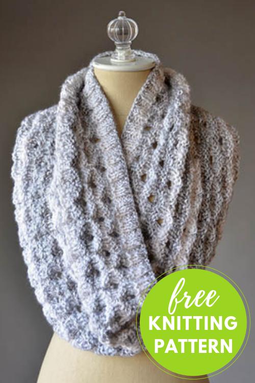 Knitting in the Round - Porthole Cowl Free Knitting ...