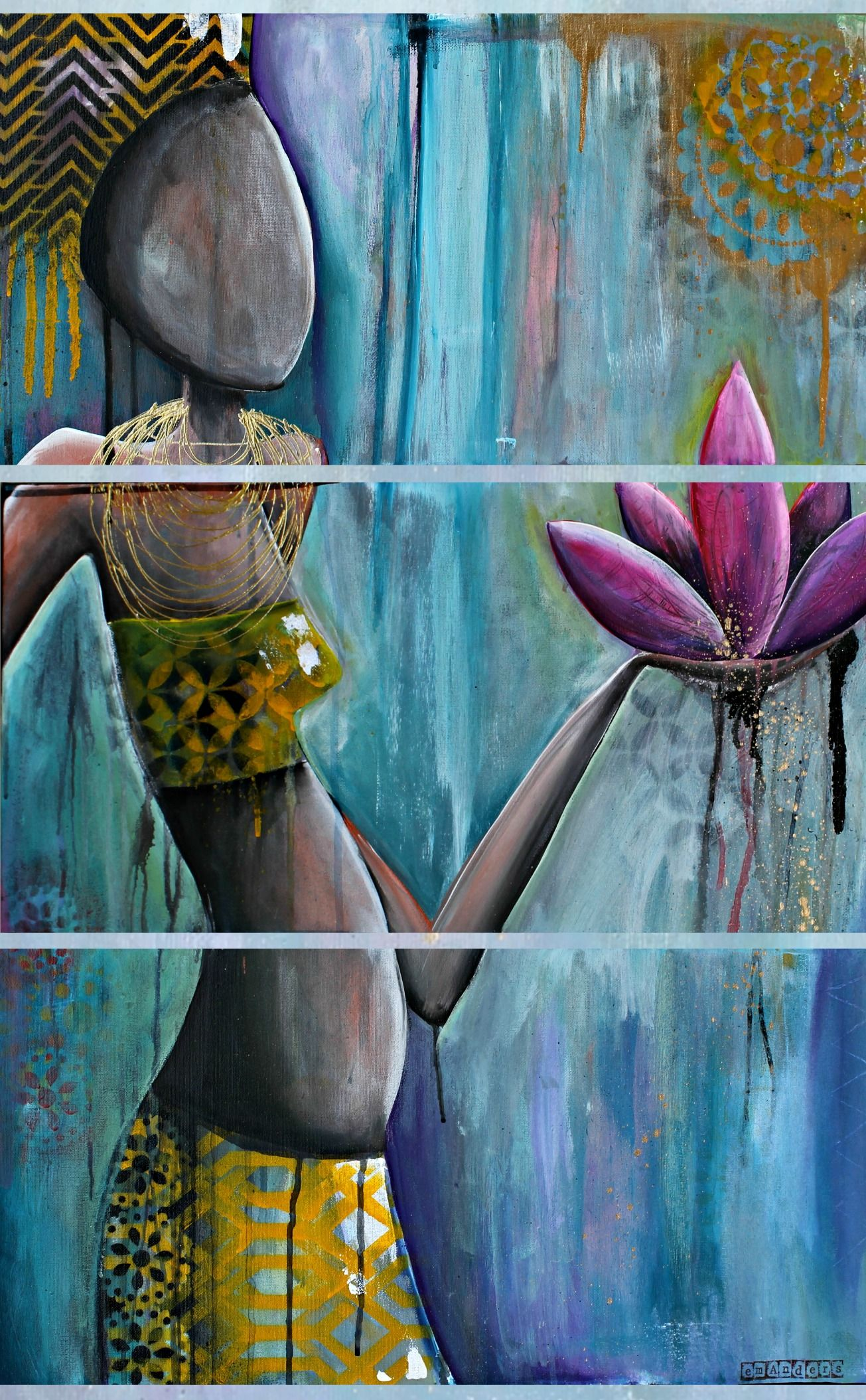African lotus flower choice image fresh lotus flowers african queen gold dust falls from the lotus flower she holds of mightylinksfo