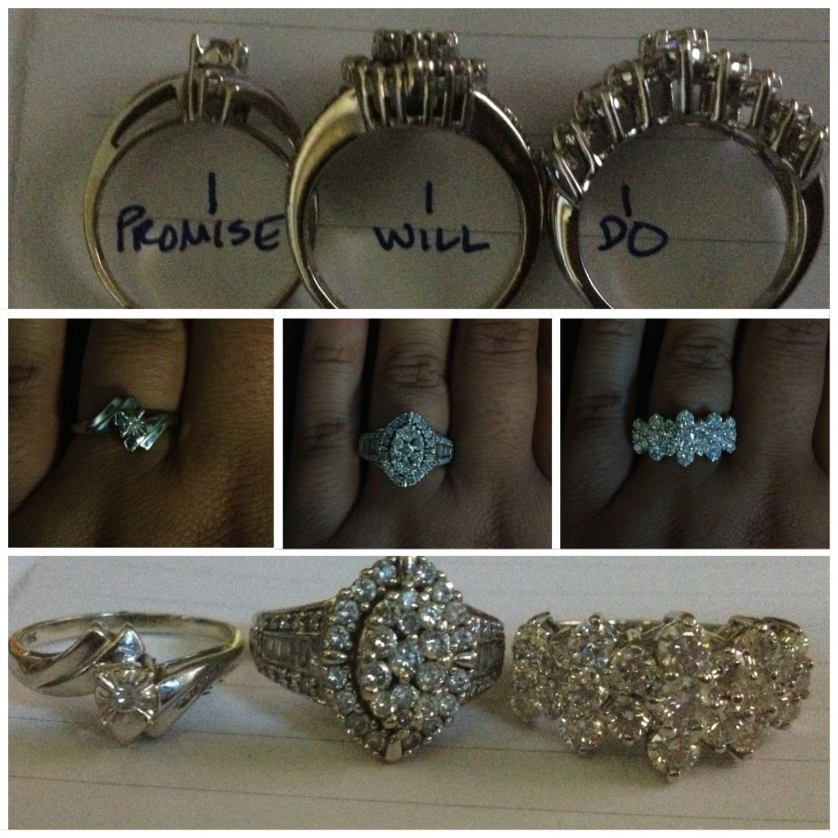 promise ring engagement ring wedding ring bling bling