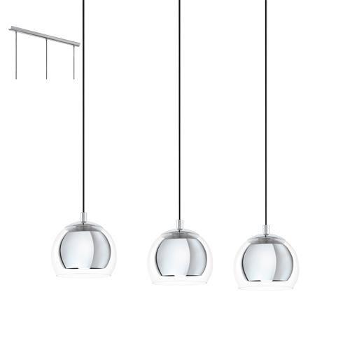 Led 3 Light Pendant Ceiling Light Chrome In 2020 Fwtistika