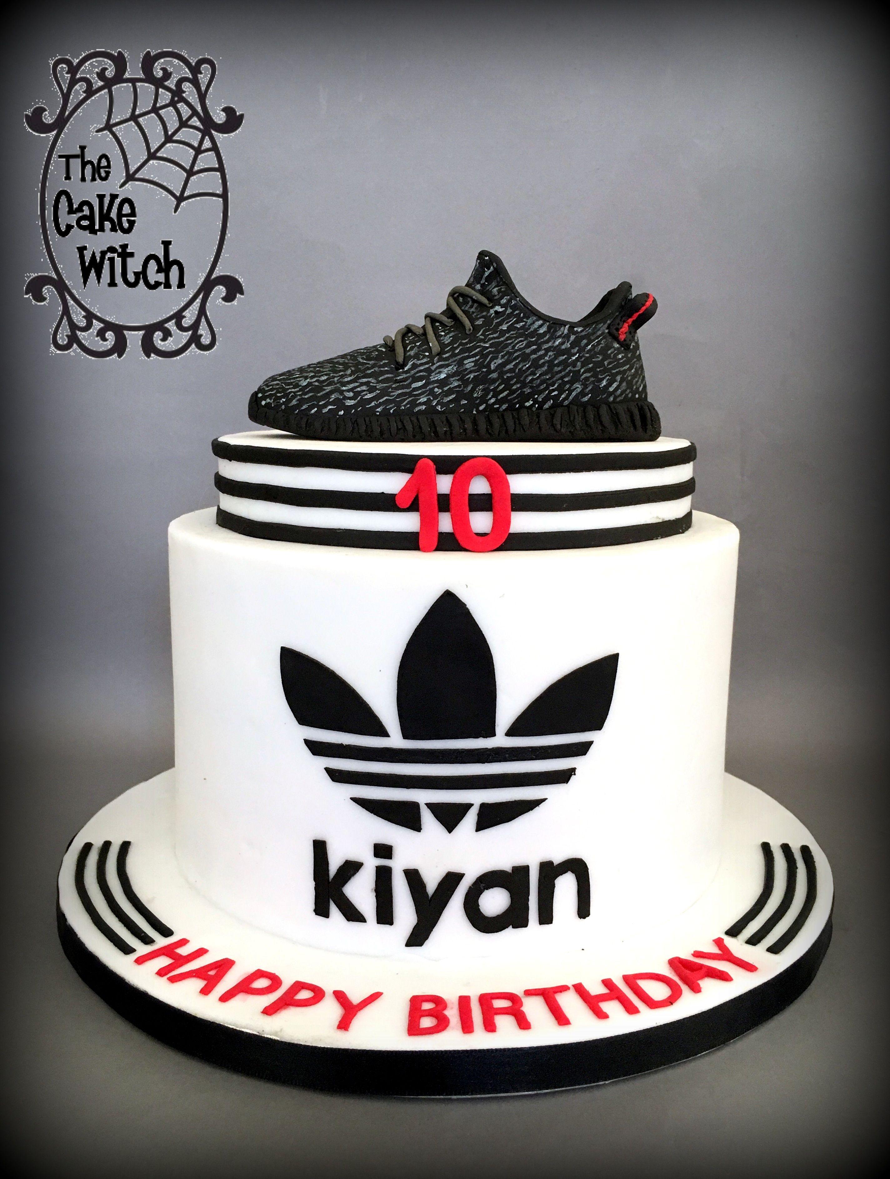 Adidas Shoe Cake Birthday Cakes For Men Boys 16th Birthday Cake