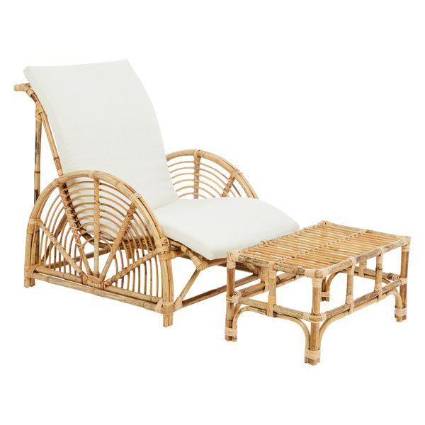 Havana Chair & Ottoman by Alexander Santorini | Rattan ...