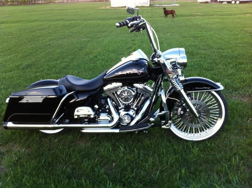 Custom Road King Baggers Lets See The Custom Baggers On Here Page 8 Harley Davidson Forums Harley Davidson Forum Road King Custom Road King