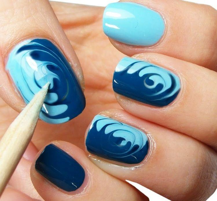 Diseño y patrón de uñas: 29 ideas para hacerte las uñas fácilmente  – Peinados facile