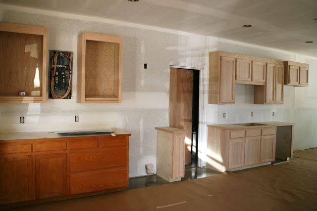 Adding kitchen space