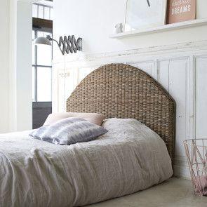 3bddbd55274c Louison Kubu Headboard | kubu or water hyacinth or seagrass bedroom ...