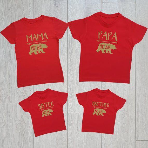 da352368e3 Chirstmas family matching shirts