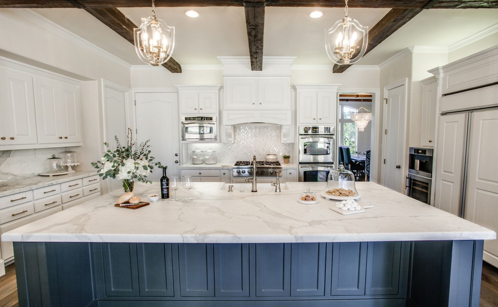 Best Calacatta Gold Borghini Extra Marble Kitchen Mom 400 x 300