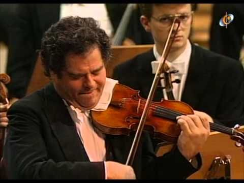 Brahms   Concert for violin and orchestra Perlman