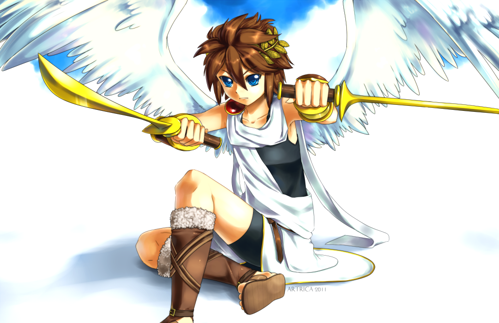 KID ICARUS By Artrica Chandeviantart On DeviantART
