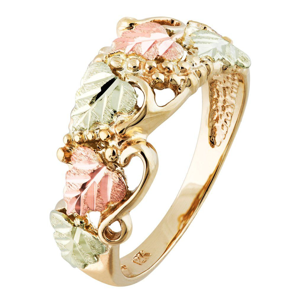 Beautiful Grapes Black Hills Gold Ring Black Hills Gold Rings Black Hills Gold Jewelry Black Hills Gold