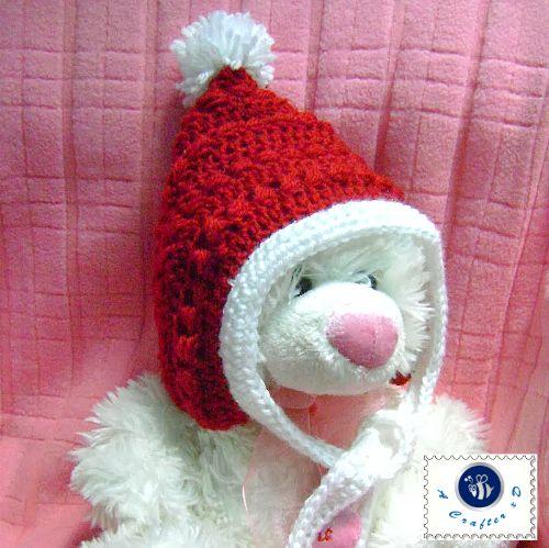 Crochet Pixie Hat Free Pattern Crochet Christmas Baby Hat Crochet