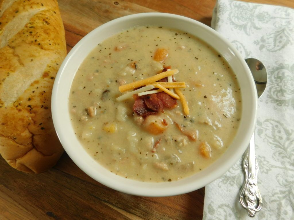 Bacon cheeseburger soup - Drizzle Me Skinny!