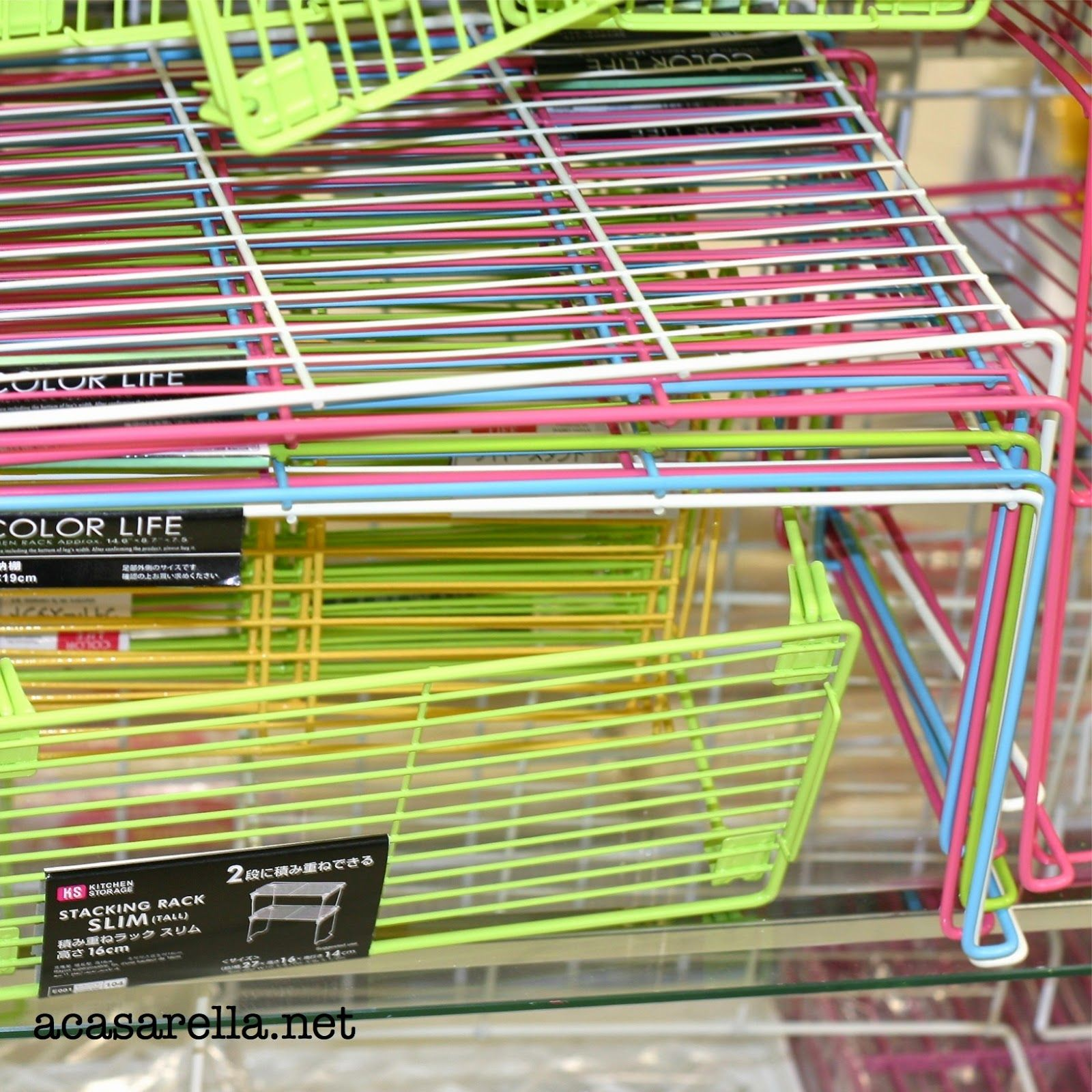 stackable kitchen shelves from daiso japanese dollar store daiso dollar stores on kitchen organization japanese id=52520