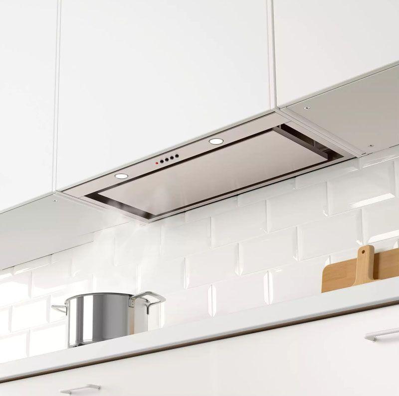 Kitchen Design Idea Hide The Range Hood With Images Kitchen Extractor Extractor Hood Kitchen Cooker Hood