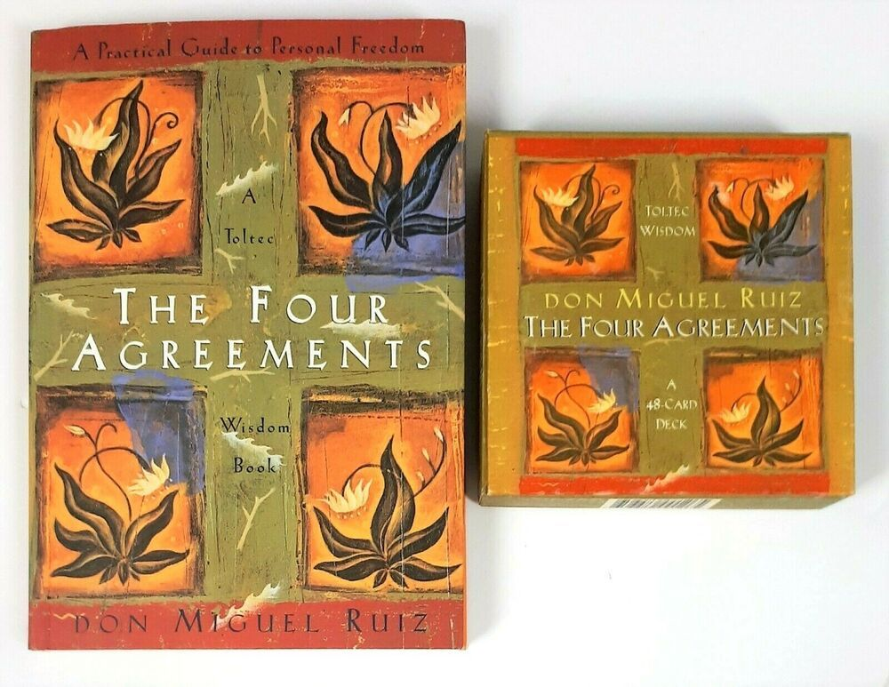 The Four Agreements A Practical Guide To Personal Freedom Book