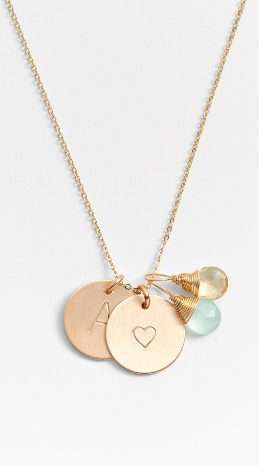 80ffb279b242 Personalized charm necklace