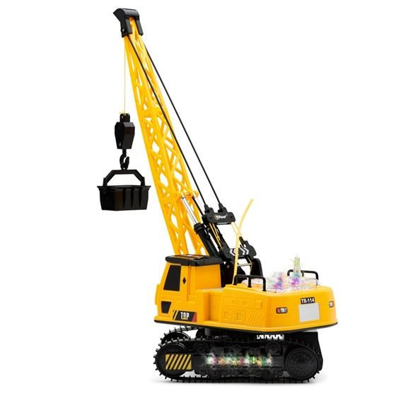 Cool RC construction toy  12 Channel Remote Control Crane, Battery