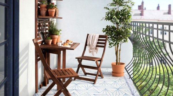 Angolo arredo relax balcone. | Idee Arredo Casa | Pinterest | Balconies