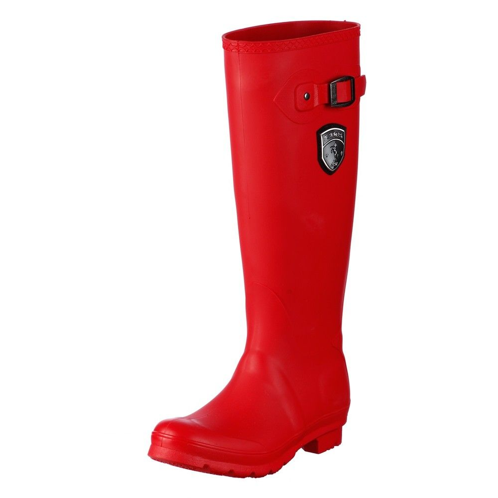 Beautiful Womens Red Rain Boots   Bsrjc Boots