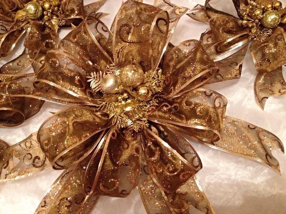 Mo os para arbol navide o envolturas pinterest - Lazos para arbol de navidad ...