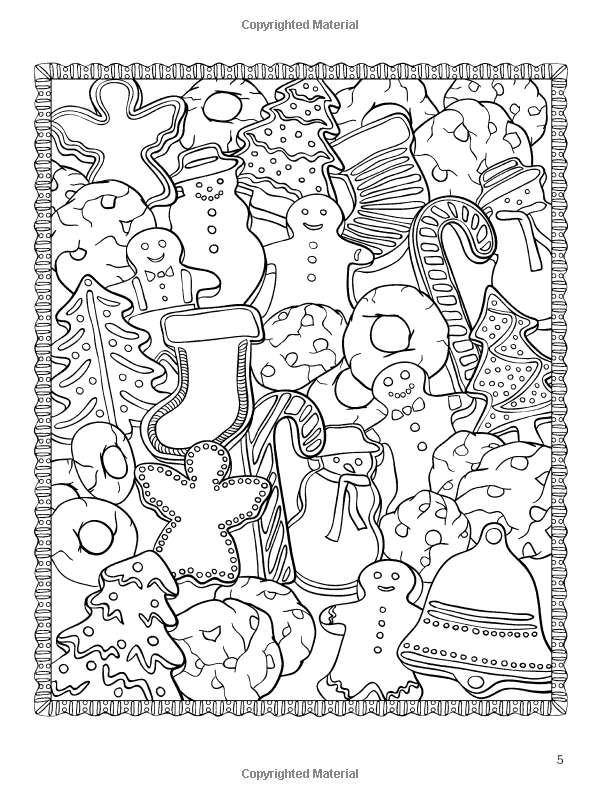 Amazon.com: ChristmasScapes (Dover Holiday Coloring Book ...