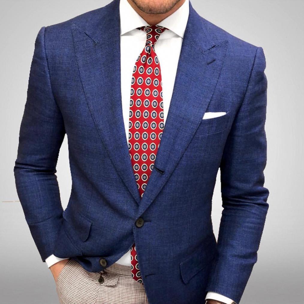 Groom Tie Red Medallion Neck Tie Men/'s Suit Tie Wedding Tie