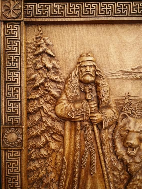 Veles - Slavic god of earth waters forests and the underworld slavic mythology woodcarving woodworking home decor велес volos woodart pagan #woodcarvingtoo