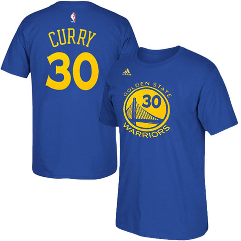 Stephen Curry Golden State Warriors adidas Net Number T Shirt