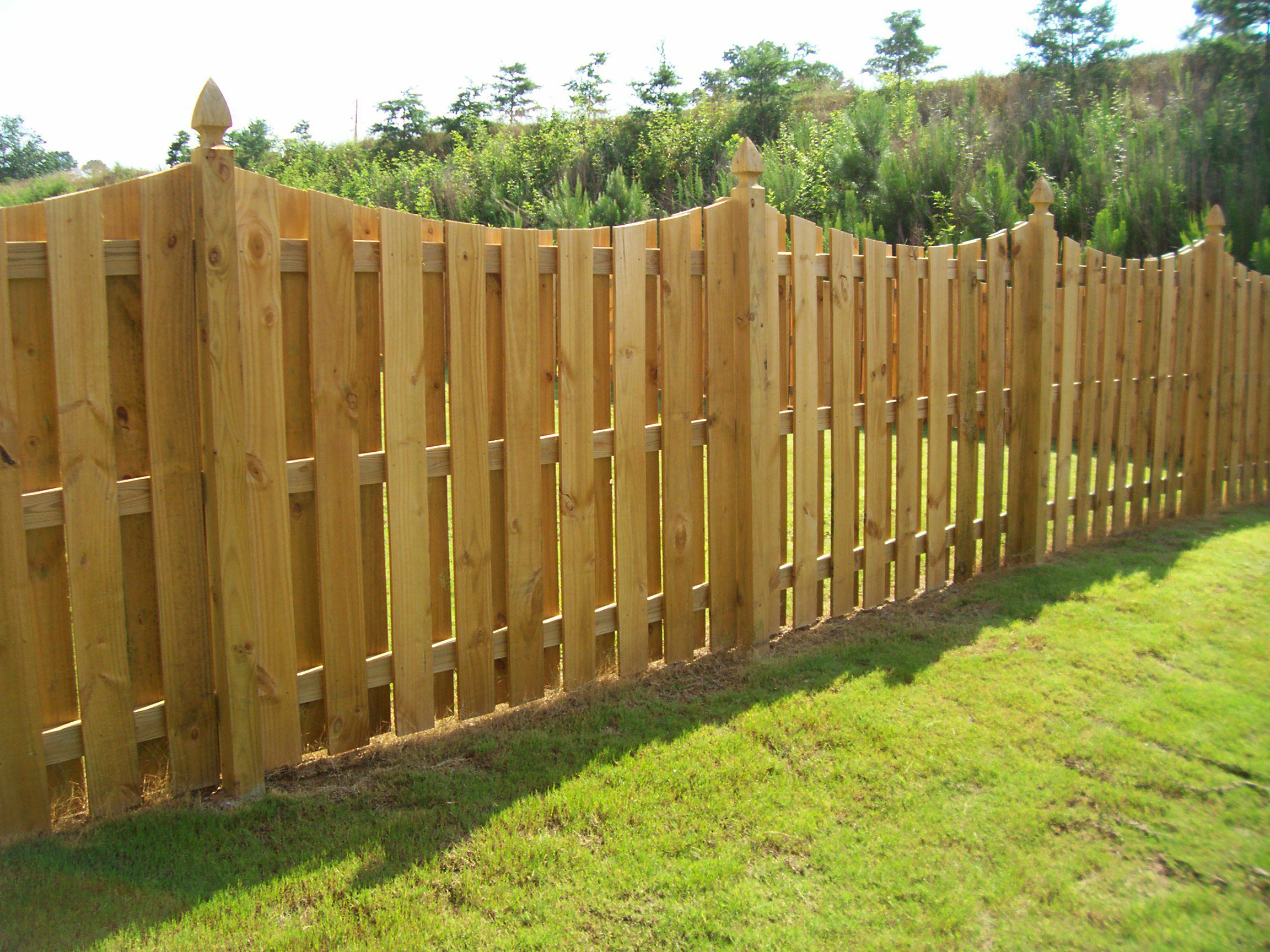 Low Wooden Fence Staxel: Maple Wood Fence Design For Backyard Come With Concave