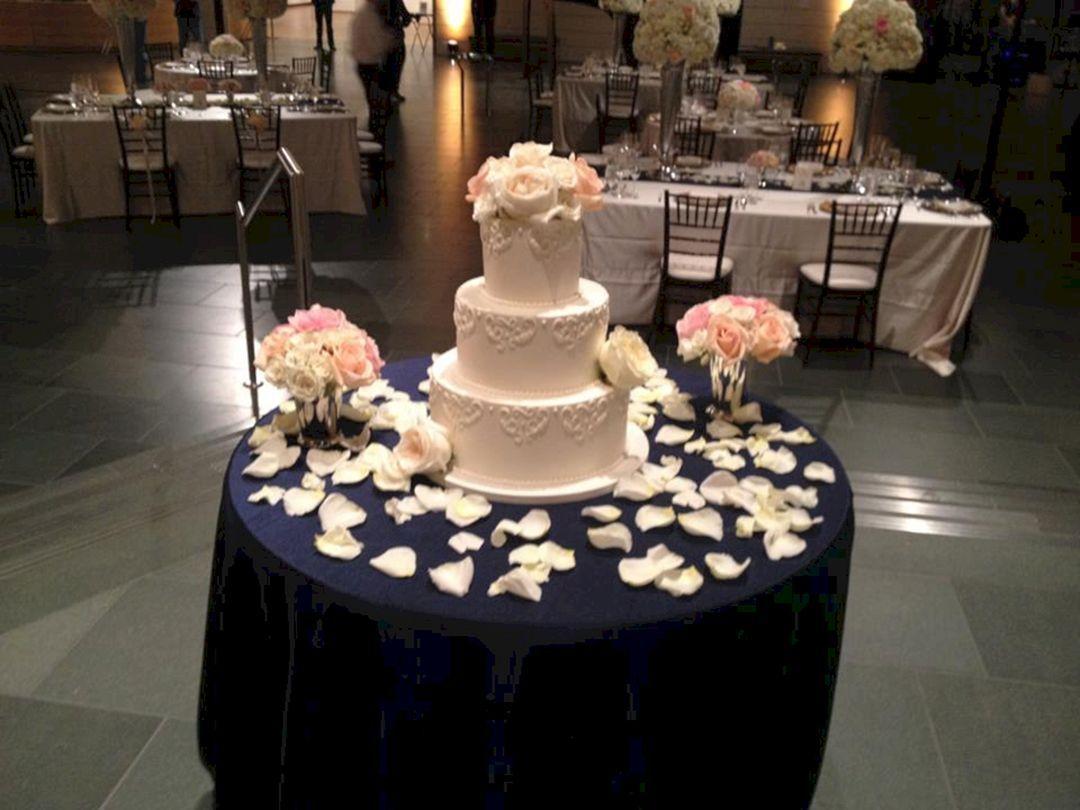 23 Gorgeous Wedding Cake Table Ideas For Inspiration Wedding Cake Table Cake Table Decorations Wedding Cake Table Decorations
