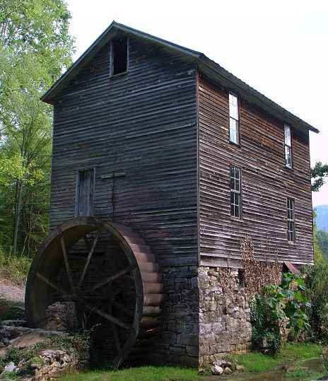 Tennessee Rustic Mill House