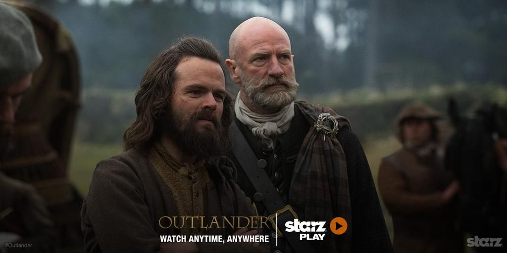 Angus & Dougal say don't just stand there. Watch #Outlander now on STARZ Play & TV On Demand. http://bit.ly/1ImyjVn