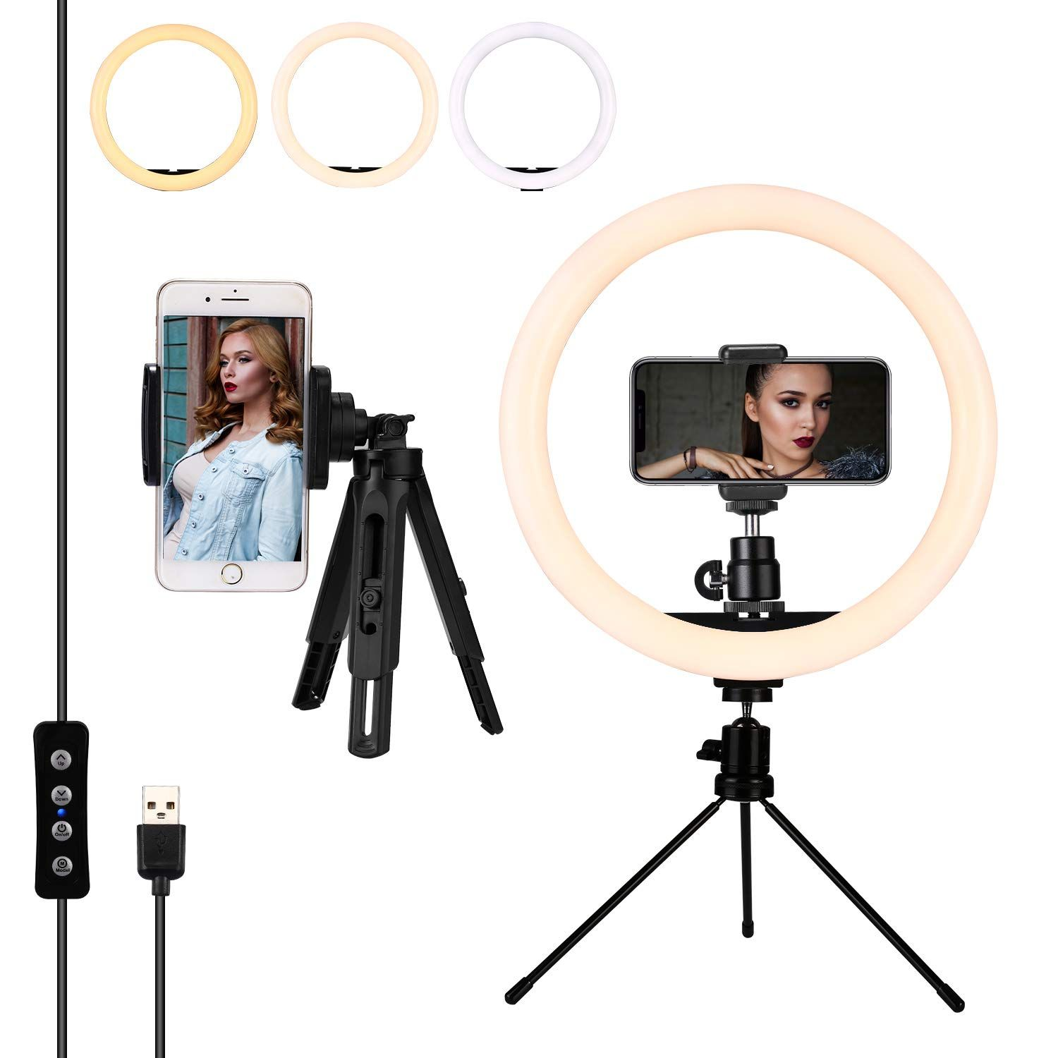 12 Inches Led Ring Light With St Led Ring Light Ring Light With Stand Led Ring