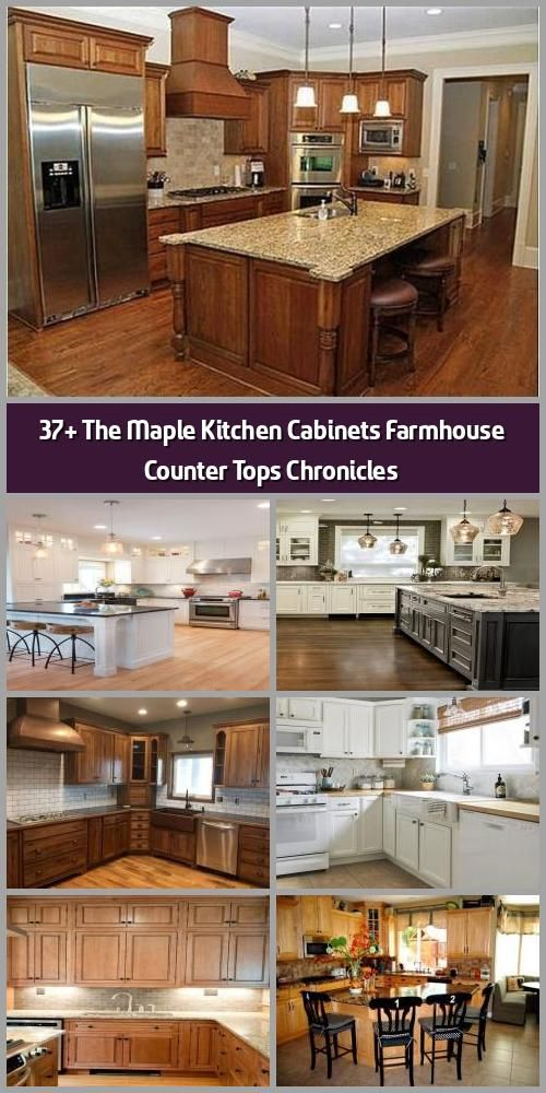 37 the maple kitchen cabinets farmhouse counter tops chronicles things you should know about on farmhouse kitchen maple cabinets id=26085