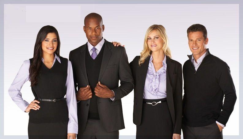 dcd2002d1e2 Coordinating hotel front desk uniforms  uniformsolutionsforyou.com ...