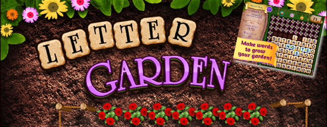 Spell words and grow your flower garden in Letter Garden a free