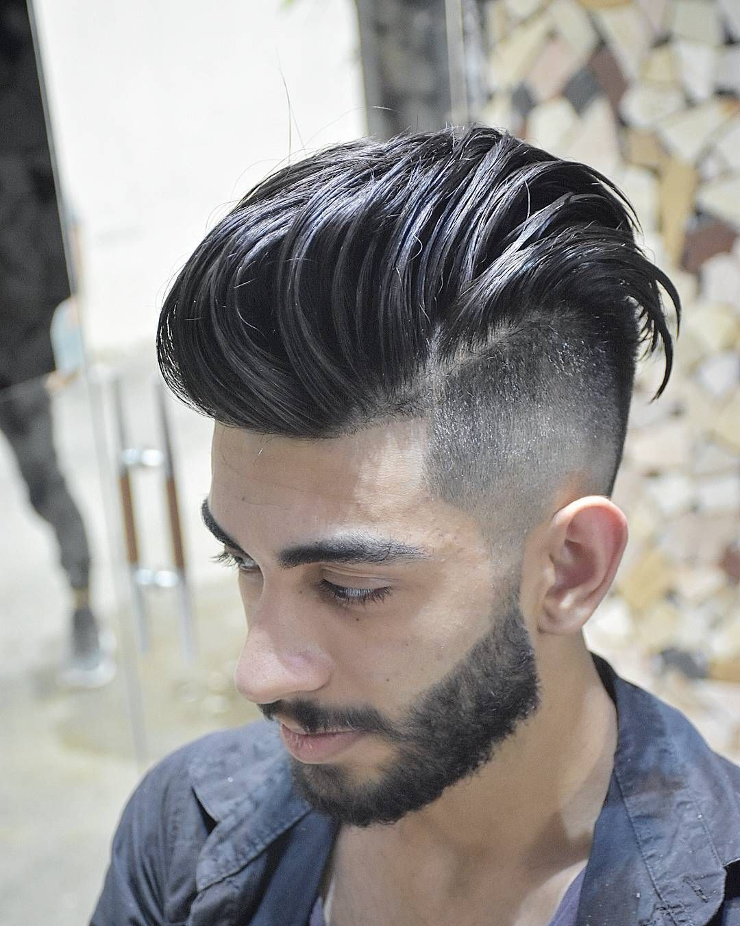nice 50 Brilliant Undercut Hairstyles for Men - Refined and Classy Designs for a Trendy Man Check more at http://stylemann.com/best-undercut-hairstyles-for-men/