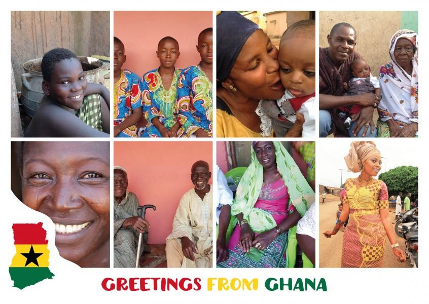Greetings from ghana pinterest ghana postcards online and vacation greetings from ghana or another one of our 8000 designs as a m4hsunfo