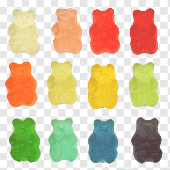 Stay High S Gummy Bears Lot Png Rainbow Png Unicorn Illustration Fish Illustration
