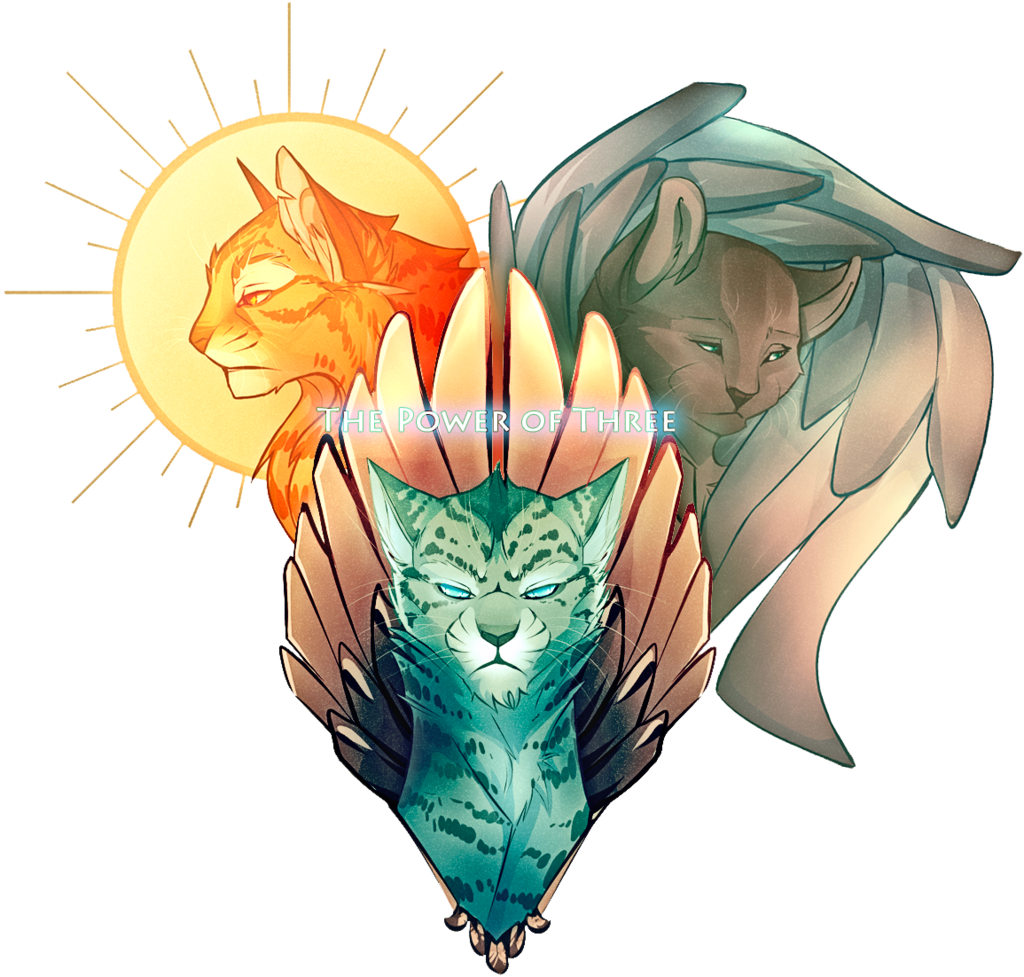 The Power Of Three By Kudesnikbob On Deviantart Warrior Cats Fan Art Warrior Cats Art Warrior Cat Drawings