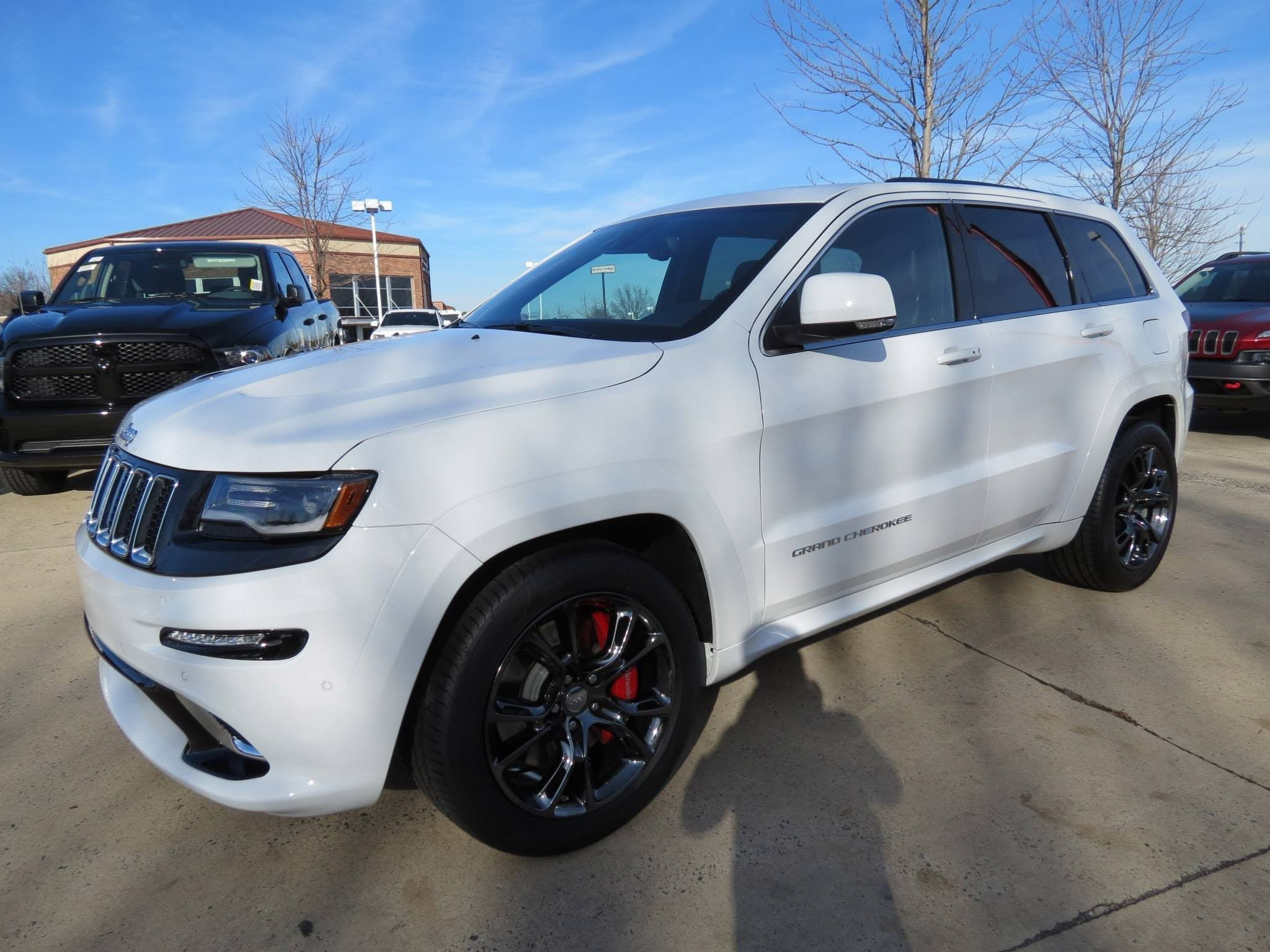 2014 jeep grand cherokee srt start up exhaust and in